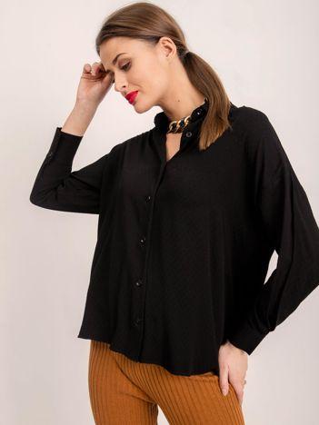 BSL Czarna luźna koszula