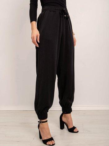BSL Czarne luźne spodnie