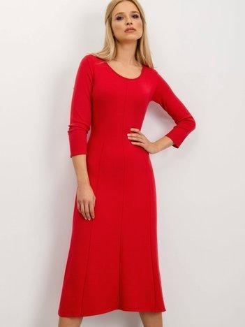 BSL Czerwona sukienka damska