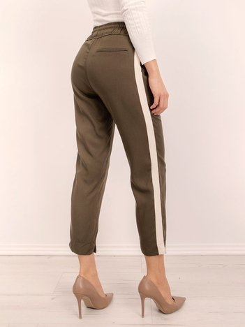BSL Khaki spodnie z lapmasami