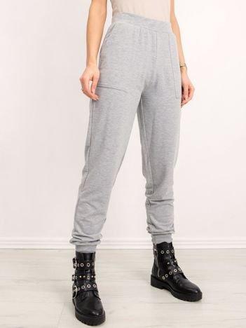 BSL Szare spodnie dresowe
