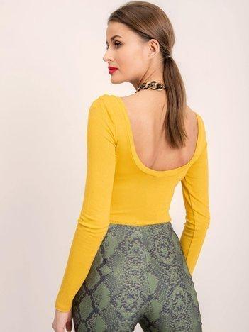 BSL Żółte body damskie
