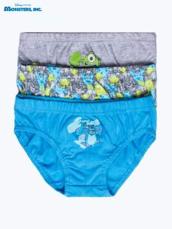 Bawełniane majtki chłopięce POTWORY I SPÓŁKA 10 3 szt