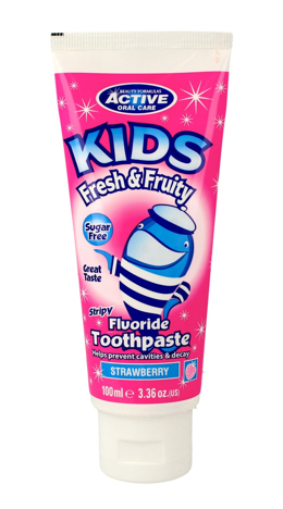 Beauty Formulas Active Oral Care Kids Pasta do zębów dla dzieci Fresh&Fruity  100ml""