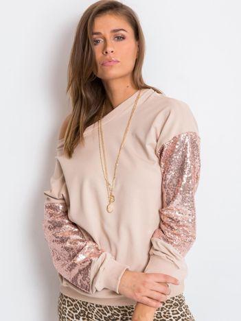 Beżowa  bluza Mirror