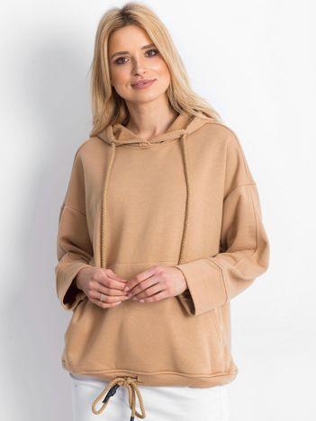 Beżowa bluza Replicating