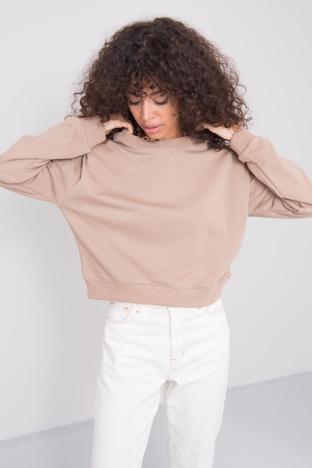 Beżowa bluza damska BSL