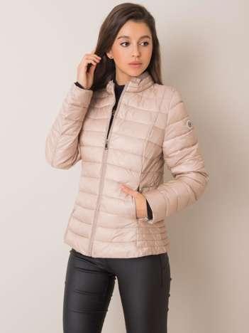 Beżowa kurtka pikowana Justine