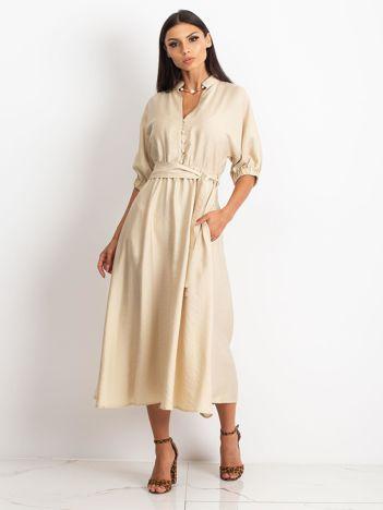 Beżowa sukienka June