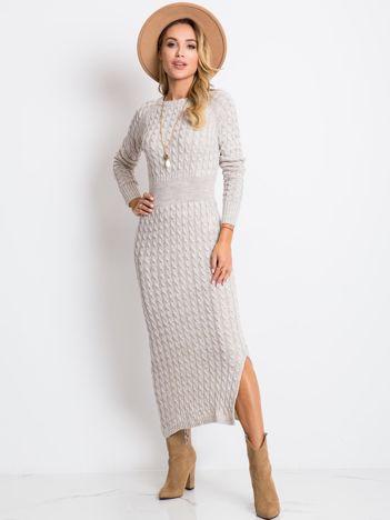 Beżowa sukienka Travel