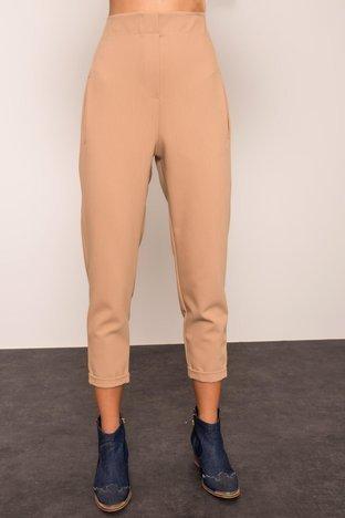 Beżowe spodnie BSL