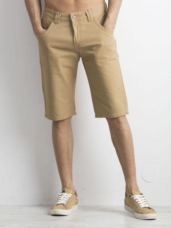 Beżowe szorty męskie