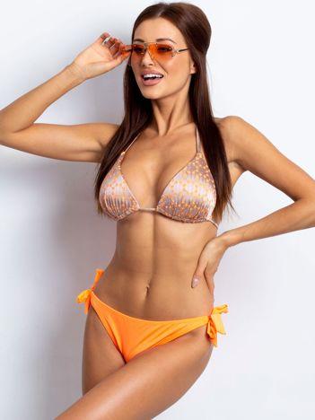 Beżowo-brzoskwiniowe bikini Paradise