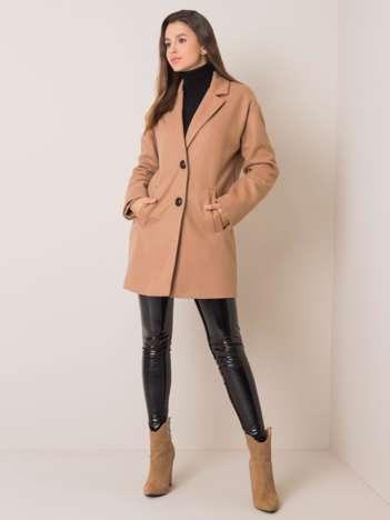 Beżowy płaszcz Corinna