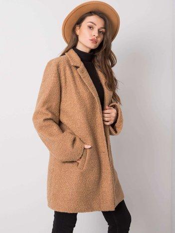 Beżowy płaszcz Reina