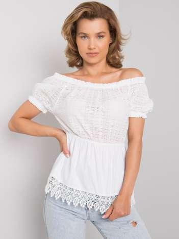 Biała bawełniana bluzka hiszpanka Sugar