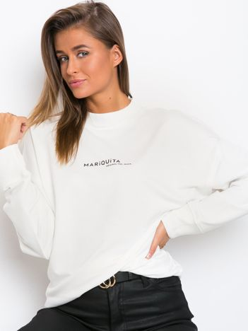 Biała bluza Kidding