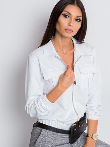 Biała bluza Madison