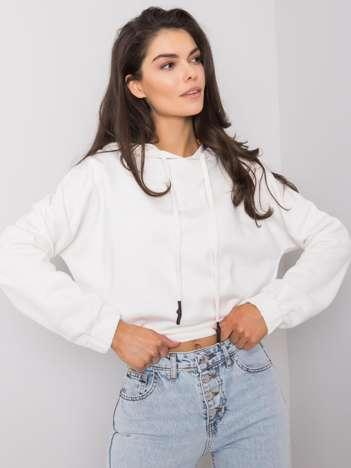 Biała bluza z kapturem Dorres RUE PARIS