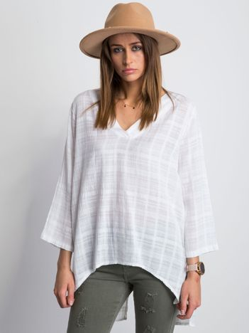 Biała bluzka Hollaback