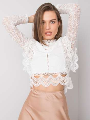 Biała bluzka koronkowa Marette