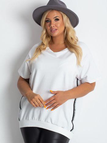 Biała bluzka plus size Holiday