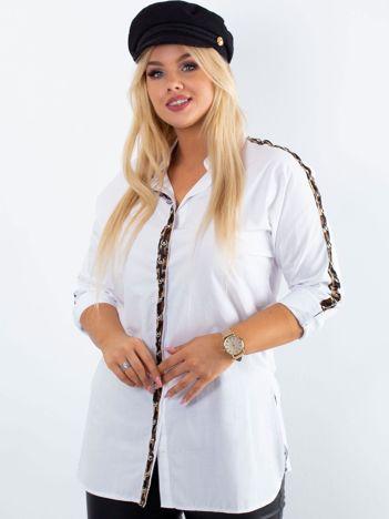 Biała koszula PLUS SIZE