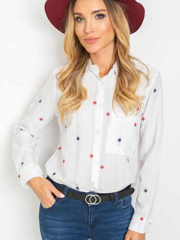 Biała koszula Rapid