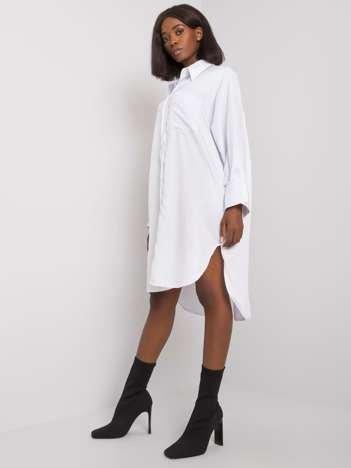 Biała koszula bawełniana Mirian