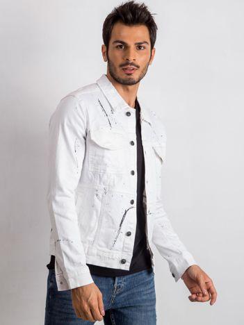 Biała kurtka męska Belong
