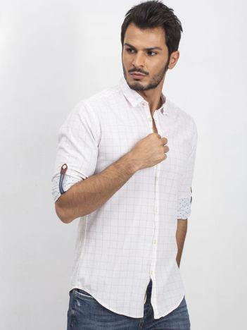 Biała męska koszula Matter