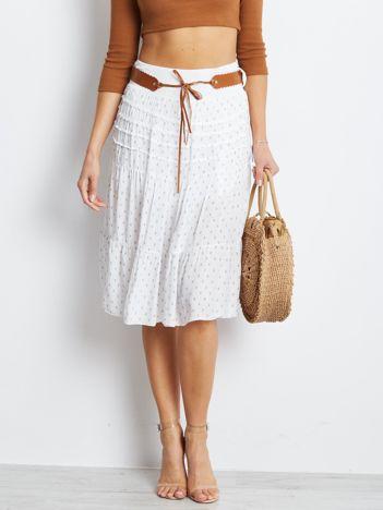Biała spódnica Charges