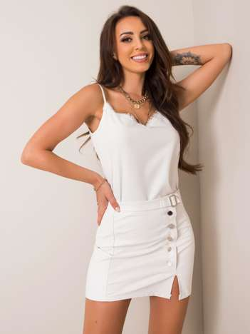 Biała spódnica Lucia