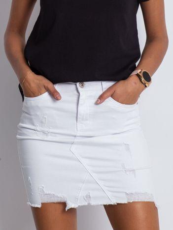 Biała spódnica Oasis