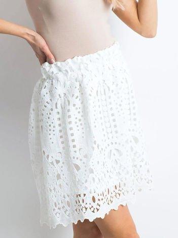 Biała spódnica Princess
