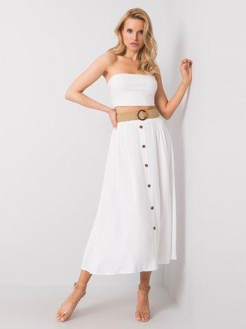 Biała spódnica Yamina