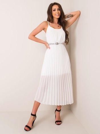 Biała sukienka Amina