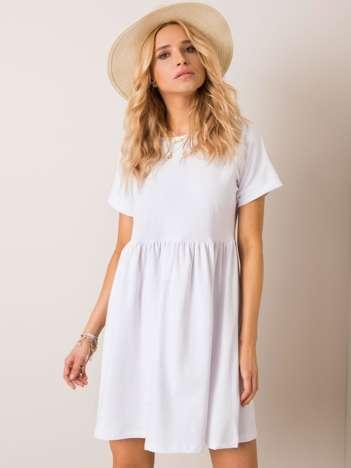 Biała sukienka Dita RUE PARIS
