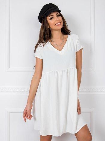 Biała sukienka Erin RUE PARIS