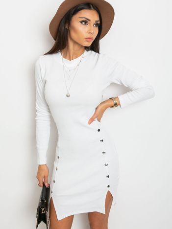 Biała sukienka Fabulous