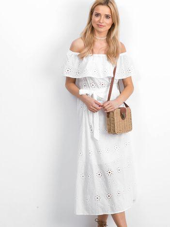 Biała sukienka Intently
