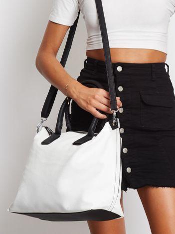 Biała torba shopper