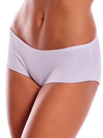 Białe majtki damskie bezszwowe