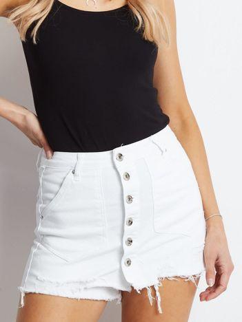 Białe spódnico-spodnie Often
