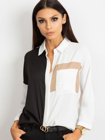 Biało-czarna koszula Berkley