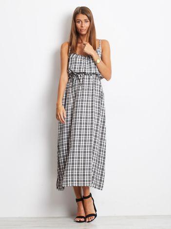 Biało-czarna sukienka Subtle