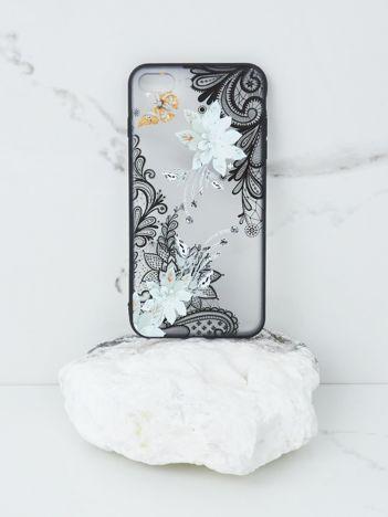 Biało-czarne etui iPhone 7 Plus iPhone 8 Plus