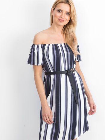 Biało-fioletowa sukienka Persia