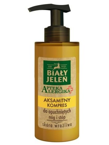 Biały Jeleń Apteka Alergika Aksamitny kompres do opuchniętych nóg i stóp  150 ml