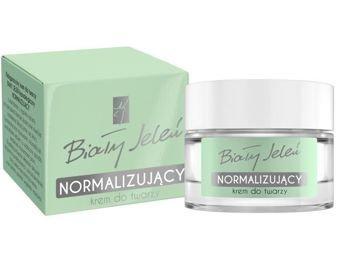 Biały Jeleń Krem do twarzy hipoalergiczny normalizujący na dzień i noc  50 ml